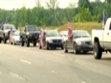 Teen Sparks Protest Over American Flags On Truck
