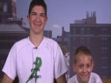 Teen Carries Brother 57 Miles For Cerebral Palsy Awareness