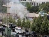 Taliban Bombs Afghan Parliament, Gun Battle Ensues