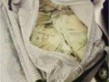 TSA Tweets Photo Of Passenger's Luggage Filled With Cash
