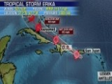 Tracking Tropical Storm Erika