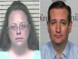 Ted Cruz 'unequivocally' Stands Behind Defiant Court Clerk