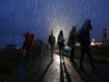 Thousands Of Refugees Heading To Europe Despite Heavy Rain