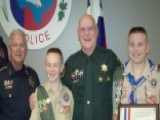 Texas Boy Scouts Awarded For 'Blue Lives Matter' Challenge