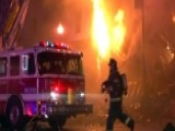 Two Firefighters Killed When Burning Building Collapses