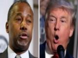 Trump, Carson Are Already In A Brawl Ahead Of Fourth Debate