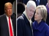 Trump Targets Bill, Hillary