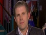 Trump's Son: People Tired Of Rehearsed Politicians