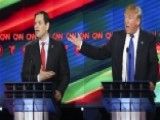 Trump Vs. Rubio: Who Was Sweating More Backstage?