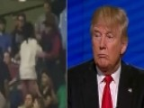 Trump Challenged Over Violent Behavior At Campaign Rallies