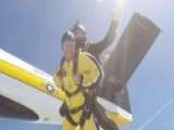 Taking To The Skies With The Army's Parachute Team