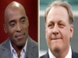 Tiki Barber Reacts To Firing Of ESPN Analyst Curt Schilling
