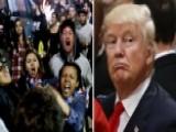 Trump Camp: Protesters Won't Silence Donald Trump