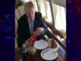 Trump Celebrates His Big Win With A Big Mac