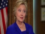 The Fallout Over Clinton's 'Fox News Sunday' Interview