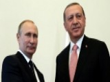 Turkish President Arrives In Russia For Meeting With Putin