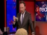 Tom Shillue Takes The Michael Phelps Pasta Challenge