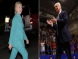 Trump Continues Campaigning, Clinton Attends Fundraisers