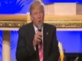 Trump Speaks At Detroit Church: We're In This Together