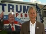 Trump Campaign RV Registers Florida Voters