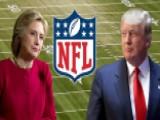 Trump, Clinton Sack NFL Ratings