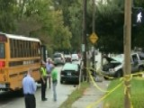 Three Kids Hit By SUV While Waiting For The School Bus