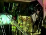 Tour Bus And Semi-truck Collide In California