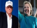 Trump Bashes Press, Clinton Avoids Press