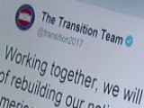 Trump Transition Team Takes To Twitter, The Web