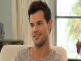 Taylor Lautner Talks 'Scream Queens,' New Movie