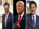 Trump Reaches Out To Japan's Abe, Romney In Sign Of Healing
