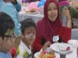 Thanksgiving Comes Early For Group Of Refugees, Immigrants