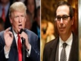 Trump To Nominate Steven Mnuchin For Treasury Secretary