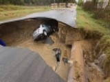 Texas Deputy Dies After Car Plunges Into Sinkhole