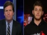 Tucker Versus Socialist College Student