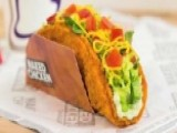 Taco Bell Unveils New Fried Chicken Taco Shell