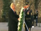 Trump, Pence Lay Wreath At Tomb Of The Unknowns