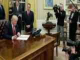Trump Signs Order For Agencies To Ease Burden Of ObamaCare