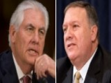 Tillerson, Pompeo On Path To Senate Confirmations