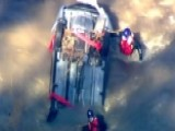 Teams Work To Recover Submerged Car, Search For Driver