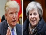 Trump, May Expected To Discuss Trade, Defense And Russia