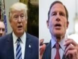 Trump: Blumenthal Misrepresented Gorsuch, Vietnam Record