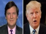 Tucker Carlson Sounds Off On Nightly News' Trump Hysterics