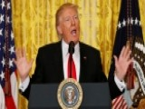 Trump Tries To Get Back On Message In Epic News Conference