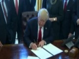 Trump Signs Order Calling For Rollback Of Regulations