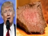 Trump Mocked For Eating Steak Well-done With Ketchup
