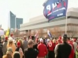 Trump Supporters Rally In Raleigh, North Carolina
