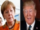 Trump Holding First Face-to-face Meeting With Merkel