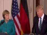 Trump And Merkel Speak At Joint Press Conference
