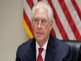 Tillerson Ramps Up Tough Talk Before Touching Down In Russia